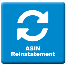 amazon asin reinstatetement